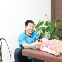 外傷性頸肩腕症候群の患者