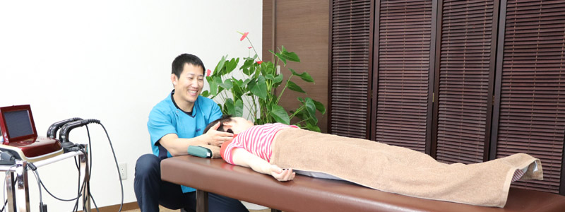 頸部挫傷の治療