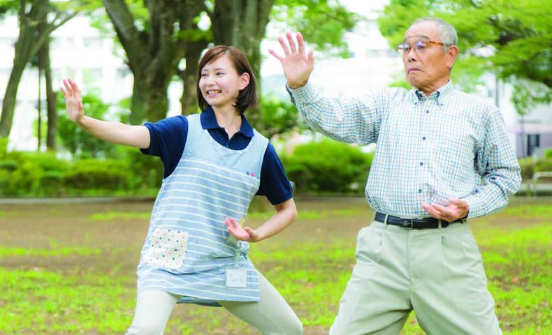 腰痛の高齢者
