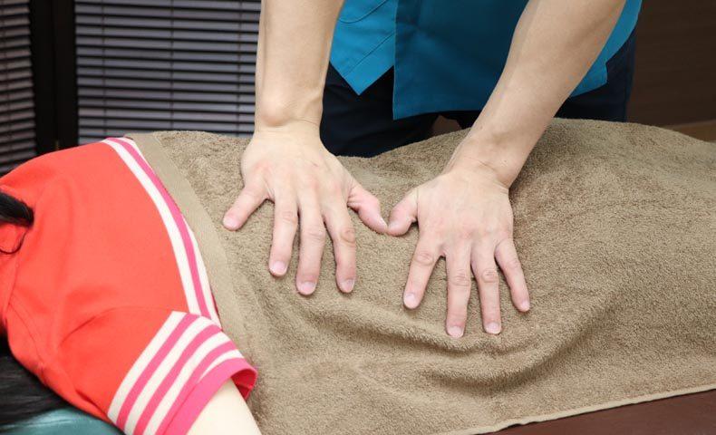 腰痛の患者
