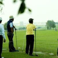 ゴルフによる肋骨骨折