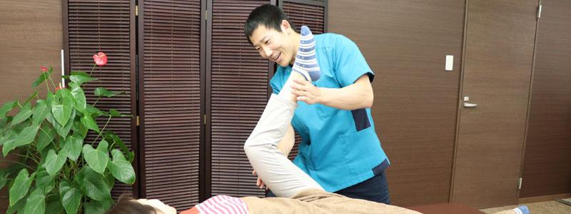 腰が痛い患者