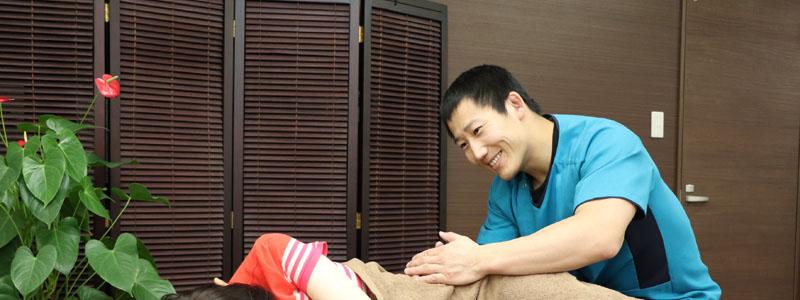 変形性股関節症の患者