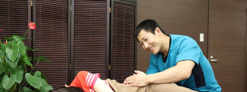 筋肉痛の治療
