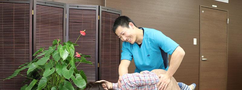 坐骨神経の治療